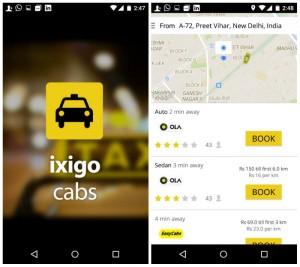 ixigo Cab 2